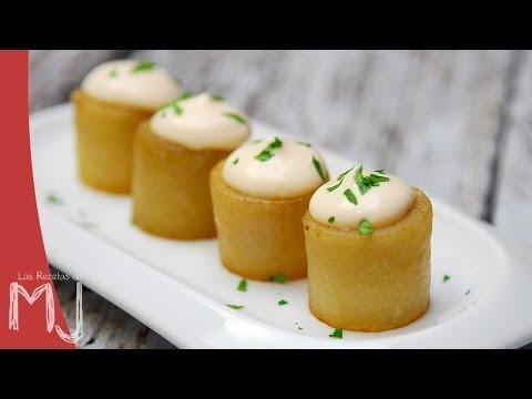 Patatas bravas del chef Sergi Arola.