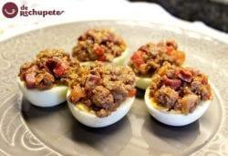 Huevos rellenos a la castellana
