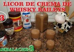 Licor de crema de whisky Baileys