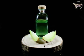 Licor de melón casero