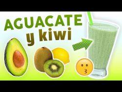 Batido de Aguacate y Kiwi para Desayunar – Licuado Nutritivo y Saludable para Comenzar Bie ...