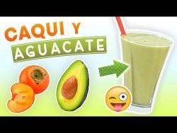 Batido de Caqui y Aguacate para Desayunar – Licuado para Acelerar el Metabolismo y Perder  ...