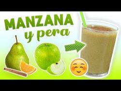 Batido de Manzana y Pera para Adelgazar – Licuado Saludable para Bajar de Peso y Eliminar  ...