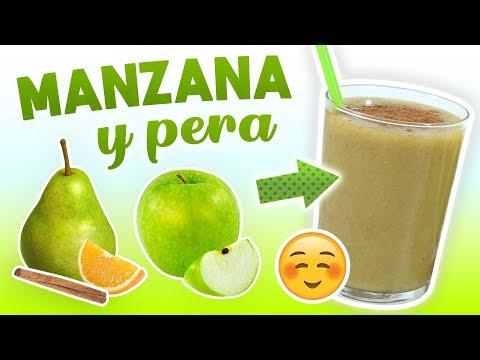 Batido de Manzana y Pera para Adelgazar – Licuado Saludable para Bajar de Peso y Eliminar Toxinas – YouTube
