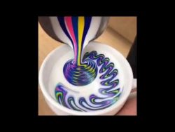Cappuccino Latte Art – Coffee Art Tutorial – Flat White Barista Compilation –  ...
