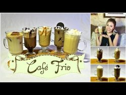 DIY 5 FORMAS DE PREPARAR CAFE FRIO – FRAPPE | 5 WAYS TO MAKE ICED COFFE | ARELI DURAZO  ...