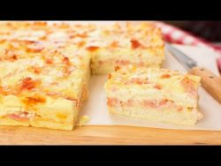 Pastel de Bacon y Queso con Pan de Molde – YouTube