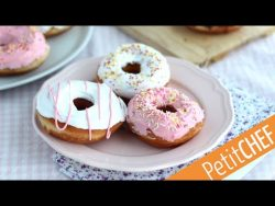 Receta Donuts americanos con glaseado I Petitchef