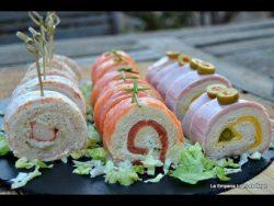 Rollitos de Canapés con Pan de Molde 3 Recetas Fáciles y Rápidas – YouTube