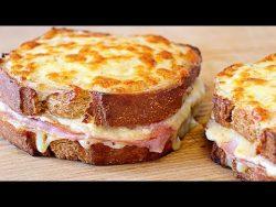 Sándwich croque monsieur – Receta fácil y rica – YouTube