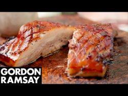 Panceta asada a fuego lento – Gordon Ramsay