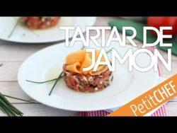 Tartar de jamón serrano, melón y tomate | Petitchef – YouTube