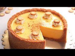 Tarta de Natilla y Galletas | Postre sin horno fácil y delicioso