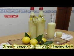 LICOR CREMOSO DE LIMÓN LIMONCELLO receta Ítaliana deliciosa y muy fácil