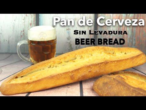 😱¿Sin levadura? 😎 Si tienes harina y cerveza en casa ya tienes pan casero!!!!